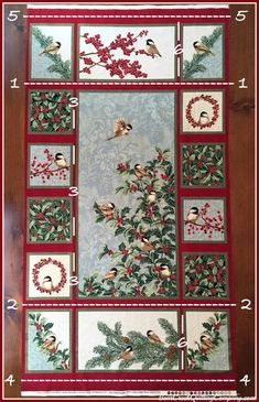 Chickadees and Berries Christmas Gift Trio Tutorial