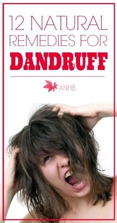 Don't stress about dandruff again! Check out these 12 natural dandruff recipes.
