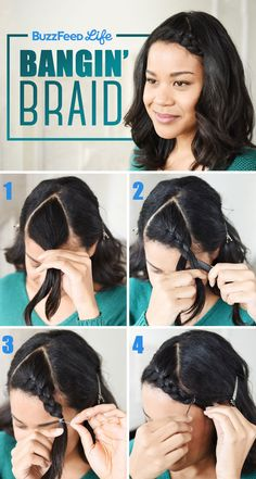 26 Incredible Hairstyles You Can Learn In 10 Steps Or Less- hairstyles trenzas short hair hairstyles trenzas medium Second Day Hairstyles, Quick Hairstyles, Straight Hairstyles, Wedding Hairstyles, Amazing Hairstyles, Casual Hairstyles, Medium Hairstyles, Ombré Hair, Hair Dos