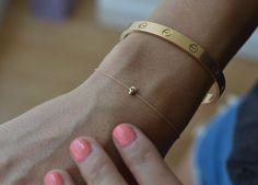 Tiny Skully Bracelet by Iwona Ludyga (details supplied by @Data West)