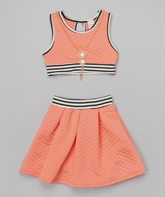 40 Ideas Skirt Outfits For School Crop Tops Kids Outfits Girls, Cute Girl Outfits, Girls Fashion Clothes, Tween Fashion, Cute Outfits For Kids, Teen Fashion Outfits, Cute Summer Outfits, Cute Casual Outfits, Fall Outfits
