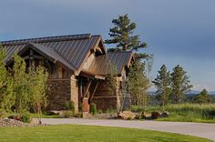TRUTEN™ Metal Roofing by Bridger Steel. Standing Seam profile shown at start of rusting process