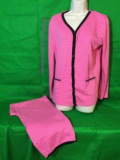 eafd40eaaf Pajama Sets Polka Dot Regular L Sleepwear   Robes for Women