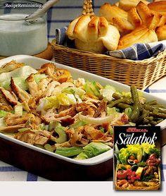 American Chicken Salad / Amerikansk Kyllingsalat