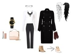 """""""OfficeStyleClassic"""" by ekaterina-maslova on Polyvore featuring мода, St. John, Christian Louboutin, Proenza Schouler, Ghost, Yves Saint Laurent, Rolex, Gucci, Givenchy и Mulberry"""