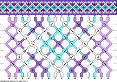 16 strings, 4 colors, 8 rows