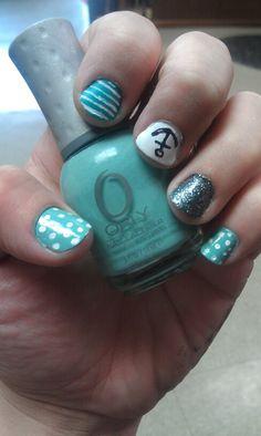 Fun summer nails (: