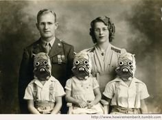 Star Wars - The Raider Family, 1941.