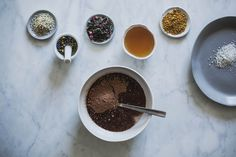 valentine recipe: raw vegan chocolate truffles by Beth Kirby | {local milk}, via Flickr