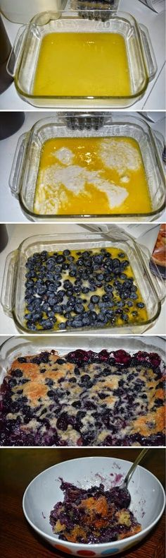 AmazinglyDeliciousRecipes: Easy Bisquick Blueberry Cobbler
