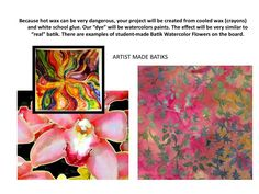 Art at Becker Middle School: Watercolor