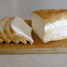 White Sandwich Bread (Gluten-Free)