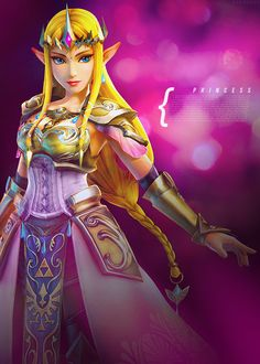Princess Zelda- New design for Hyrule Warriors is AWESOME