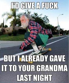 Badass Grandpa - Win Picture