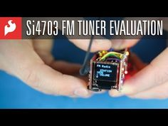 Si4703 FM Radio Receiver Hookup Guide - learn.sparkfun.com Arduino Radio, Fm Radio Receiver, Science And Technology