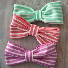 spring hair bows GIVEAWAY by meagan