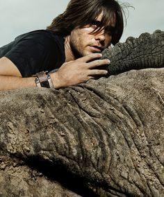 Jared Leto & Elephants...what's not to love??