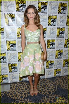 Lyndsy Fonseca, dress by The Hellers