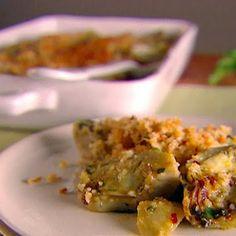 Artichoke Gratinata* Recipe courtesy of Giada De Laurentiis