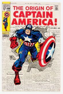 Captain America #109 (Marvel, 1969)