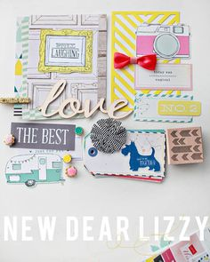 new dear lizzy polka dot party LOVE the eclectic look of Dear Lizzy!!!