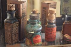 Fabulous old bottles