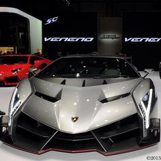 The Lamborghini Veneno -