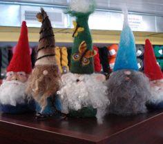 Needle Felting Gnomes