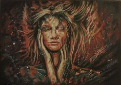 Original chalk pastel drawing by the visual artist Marla Jane - video of how it was done. Breathtaking!