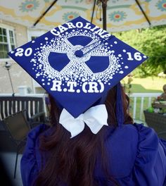 Rad tech graduation cap