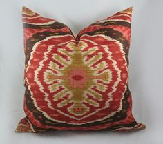 Decorative Pillow Cushion Cover  Accent Pillow  by kimoleydeco, $42.00
