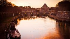 Wallpaper italy, rome, river, building