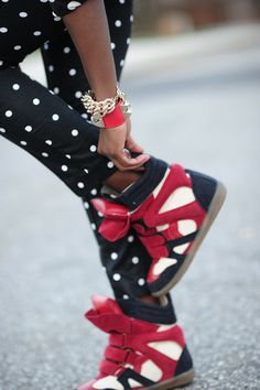 SHOES: http://www.glamzelle.com/collections/shoes/products/maranchic-bekett-wedge-sneakers-red-navy