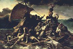 "Géricault: The Raft of the Medusa, 1819 (16' X 23'6"")"