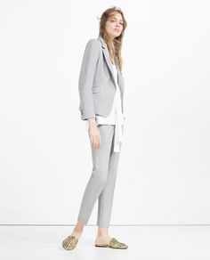 ZARA - WOMAN - SHORT BLAZER