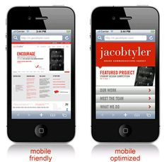 Browse your company's site on your mobile phone - do you like what you see?