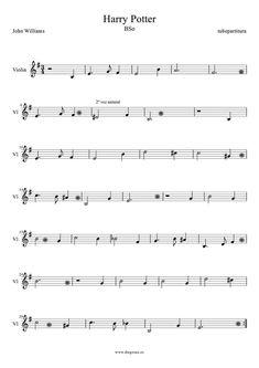 Partitura de Harry Potter Theme para Flauta Fácil Hedwig´s Theme Theme songs Easy Sheet music for Flute (music score) Mais Violin Songs, Easy Piano Songs, Easy Piano Sheet Music, Piano Music, Music Sheets, Beginner Violin Sheet Music, Song Sheet, Trumpet Sheet Music, Saxophone Sheet Music