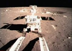 JAde Rabbit, China's Chang'e 3 spacecraft, the first spacecraft to make a soft landing on the lunar surface in nearly four decades. The last one before that was the Soviet Union's Luna 24 mission, sent to collect samples in 1976.