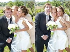 Ohh, I will have multiple funny  / goofy wedding pictures