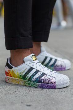 DIY // menswear, mens style, fashion, sneakers, adidas, street style