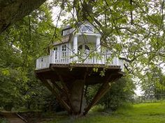 Tree house for adults...a wonderful garden get-a-way