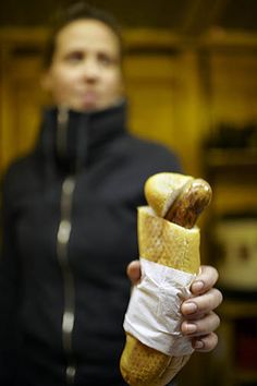 Hot Dog, Vienna Christmas market.  http://nickbaylisphotography.com/