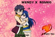 Wendy and Romeo    Fairy Tail   Rowen