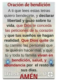 Night Prayer, God Prayer, Prayer Quotes, Power Of Prayer, Daily Prayer, Bible Quotes, Spanish Prayers, Everyday Quotes, Just Believe
