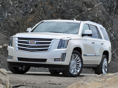 ... 2016 Cadillac Escalade Platinum ... mama's new car!