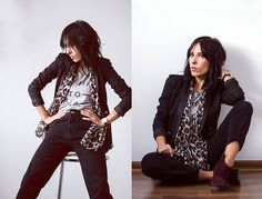 More looks by Justyna Szmajser: http://lb.nu/jjfashionhunter  #chic #styleblogger #rockchic #rockstyle #mystyle #animalprint #polishblog #lookgood