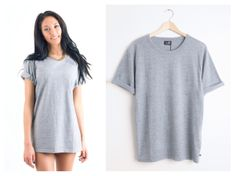 Todays Fashion Fix: Cheap Monday Oversize Grey Tee. Love Clothing, Cheap Monday, Grey Tee, Shirt Dress, T Shirt, Notes, Style Inspiration, Outfits, Dresses