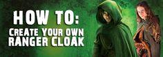 Ranger's Apprentice How To: DIY Cloak