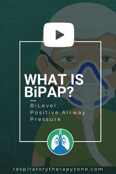 What is BiPAP? BiPAP stands for BiLevel Positive Airway Pressure. It's a form of noninvasive ventilation that is commonly used in the field of Respiratory Care. So if you're looking for a quick overview of BiPAP, check out this video.#BiPAP #CPAP #NoninvasiveVentilation #MechanicalVentilation #RespiratoyTherapy Mechanical Ventilation, College Success, Respiratory Therapy, Simple Life Hacks, Learning Process, Clinic, How To Become, Positivity, Student