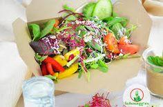 Fresh bio salad created by Schmegges